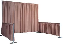 Church Curtains And Drapes Pipe U0026 Drape Exhibit Display Booths Pipe U0026 Drape Kits Trade