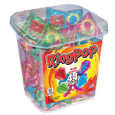ring pop jar assorted flavors 44 ct