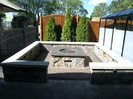 Diy Backyard Fire Pit Ideas Built In Fire Pit Covers How To Make A Diy Built In Flagstone Fire