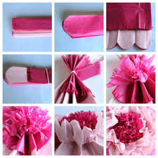 tissue paper flowers to make tissue paper flowers