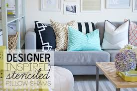 Ikea Throw Pillows by Sarah M Dorsey Designs Designer Inspired Pillow Shams