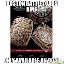 Battletoads Meme - boston battletoads ring only available on 9gag meme rings 13570