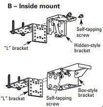 Levelor Blind Parts How To Install Metal Extension Brackets
