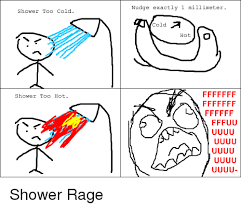 Shower Meme - shower too cold shower too hot nudge exactly 1 millimeter cold a hot