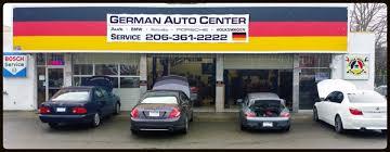 seattle german auto center 206 361 2222 seattle german european