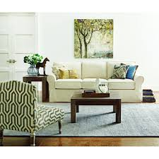 home decorators gordon sofa home decorators collection mayfair 88 in classic natural twill