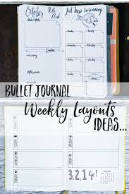 Bullet Journaling by Bullet Journal Weekly Layout Ideas