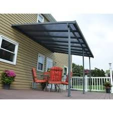 Awnings At Home Depot Feria 10ft H X 20ft W X 13ft D Patio Cover Awning Patio
