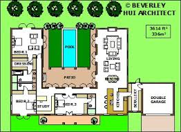 u shaped house plans with pool modest decoration u shaped house plans with pool in middle