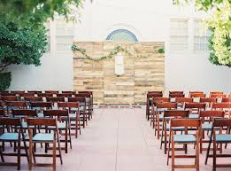 wedding backdrop altar las vegas free wedding with boho details historic fifth