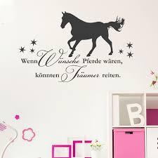 pferde spr che tolle reit wandtattoos mit schönen sprüchen und pferde motiven