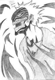 copy draw u0027 hollow ichigo 2 by hollowfiedguest on deviantart