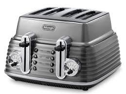 Delonghi Kettle And Toaster Cream Scultura 4 Slice Toaster Toasters Delonghi Australia