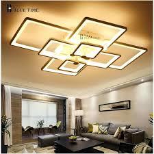 Flush Ceiling Lights Living Room Modern Ceiling Light Led Dimming And Remote Modern Ceiling Lights