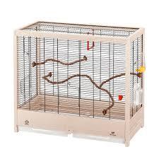 uccelli in gabbia gabbia in legno ferlpast giulietta 4 per canarini e uccelli esotici