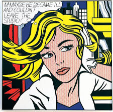 top 10 pop by lichtenstein wallart101