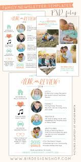 free thanksgiving newsletter templates free photoshop download year in review newsletters u2013 birdesign