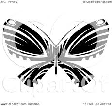 royalty free vector clip art illustration of a unique black and