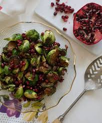 brussels sprouts with pomegranate and pancetta fresh tastes
