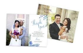 wedding thank you card thankyou costco photo center