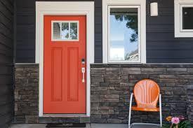 Accent Door Colors by Front Doors Ideas Orange Front Door 128 Front Door Colors Orange