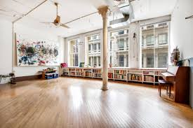 Soho Laminate Flooring This Hip Huge Artist Loft In Soho Will Not Come Cheap 6sqft