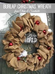 burlap christmas wreath burlap christmas wreath clean and scentsible