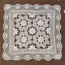 Crochet Patterns For Home Decor Aliexpress Com Buy Zakka European Special Cotton Crochet Table