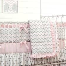 grey and pink baby bedding sets elephant crib bedding nursery baby