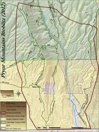 Montana Blm Maps by Maps Bioblitz 2012 Pryor Mountains