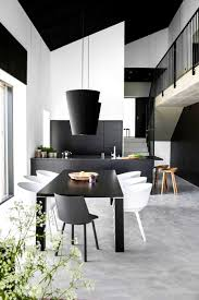 apartments knockout black and white dining room designs hastac