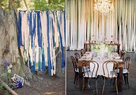 ribbon backdrop five ribbon backdrop ideas for your diy wedding