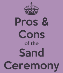 Sand For Wedding Unity Vase Pros And Cons Of The Unity Sand Ceremony Unity Sand Wedding And