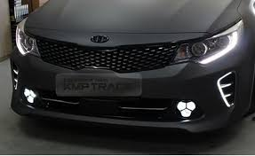 2013 kia optima led fog light bulb front lower grille led fog light l assembly lh rh for kia 2016