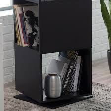 finley home hudson 4 cube rotating bookcase hayneedle