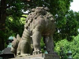 japanese guard dog statues lion adventures in moonland