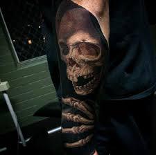 99 gnarly skull tattoos that will make you gawk