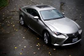 lexus rc 350 awd used 2015 lexus rc 350 awd review unfinished man