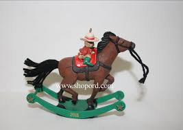 hallmark 2015 limited quantities a pony for christmas ornament