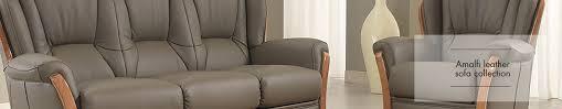 Almafi Leather Sofa Leather Sofa Collection