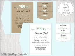 diy pocket wedding invitations do it yourself diy wedding invitations printable diy pocket