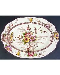 butterfly serving platter snag this hot sale 25 alfred meakin medway decor brown