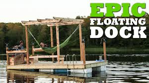 Plans To Build A Cabin How To Build An Epic Floating Dock Youtube