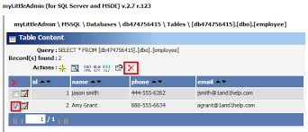 Mysql Delete From Table Delete Data Records From A Table 1 U00261 Help Center