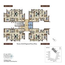 salarpuria sattva east crest floor plans for 1 2 3 bhk