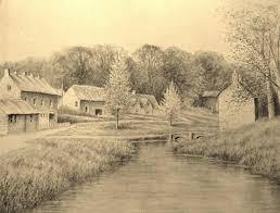 Pictures Of Landscapes by Landscape Pencil Drawing Timelapse Youtube