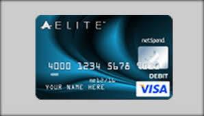 elite debit card ace elite fee advantage plan visa prepaid debit card
