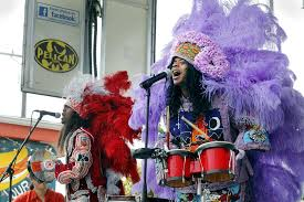 mardi gras indian costumes cha wa a different of mardi gras indian band steps out with