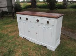 shabby chic kitchen sideboard cupboard unit in blackwood