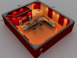 agreeable home recording studio design plans on small home